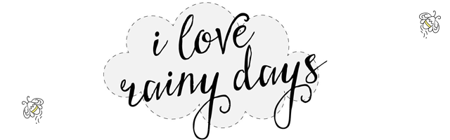 i love rainy days logo